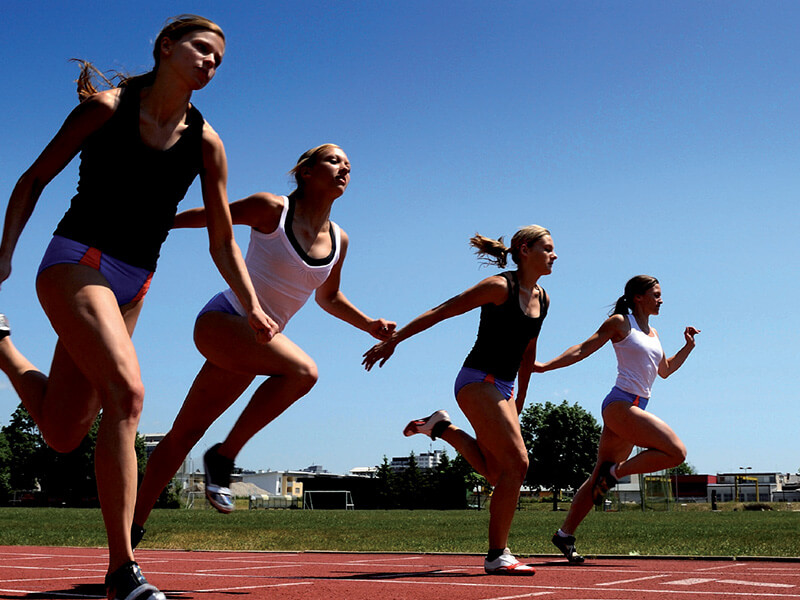 Group of Sprinters